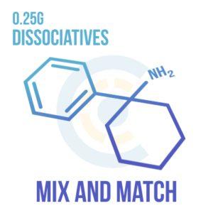Mix and Match – Dissociatives 0.25g