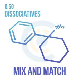 Mix and Match – Dissociatives 0.5g