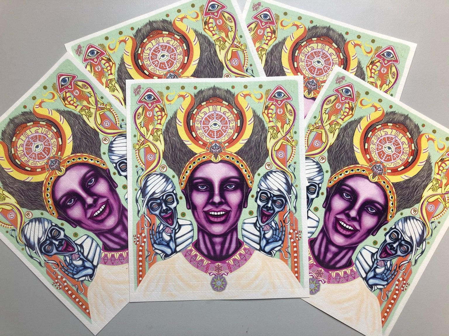 1cP-LSD 150mcg buvards