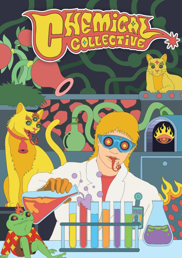 Psychedelic Chemical Collective Poster
